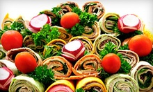 $25 for a Wrap Platter Including 35 Wraps at Beverly Hills Market &amp; Deli