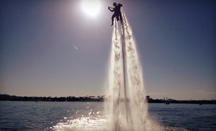 $175 for a Water Jetpack Adventure with GoPro Video Footage &amp; T-Shirt at Water Jetpack Adventure