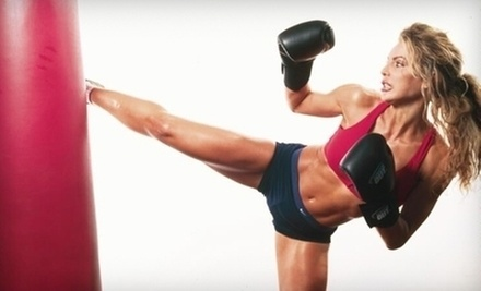 $15 for an 8:15am Kickboxing Class at Atomic Boxing