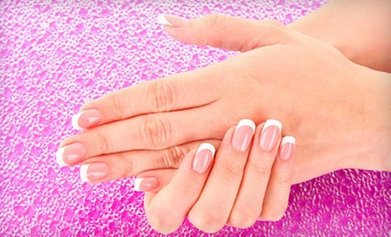 $25 for a Full Set of Gel Nails with White Tips at Miss Saigon Nail Bar
