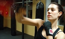 $10 for an 8 a.m. Boxing Class at Axtion Club