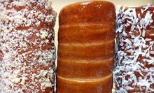 $4 for a 16oz Coffee and Chimney Cake at Chimney Cake NYC