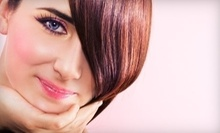 "$38 for Haircut & Specialized ""Power-dose"" Conditioning Treatment at Innovative Looks"