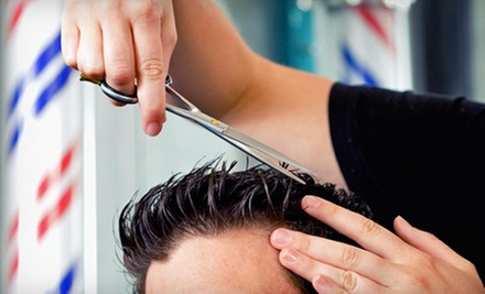 $10 for a Men's Haircut   at Trendity Salon