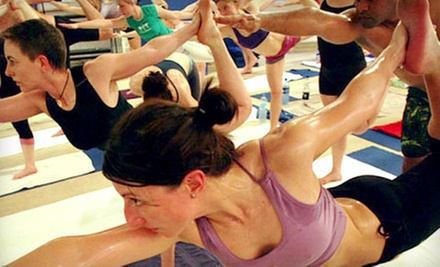$10 for 9:30 a.m.Yoga Class  at Bikram Yoga Canada