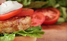 $5 for a Signature Chef Burger, Home Fries &amp; Medium Drink at Hit the Spot