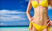 $57 for Organic Full Body Spray Tan at Faux Glow