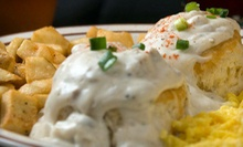 $8 for $16 Worth of Breakfast and Lunch Fare at Le Peep Fort Worth