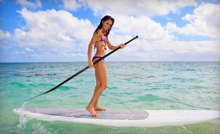 $25 for a Two-Hour Paddleboarding Rental at Miami Watersports LLC