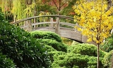$5 for Two Tickets to the Japanese Gardens at Fort Worth Botanic Garden