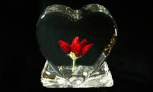 $22 for a Heart-Shaped Ice Sculpture at Ice Occasions