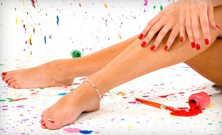 $35 for a Signature Manicure and Pedicure at Sugar Fly