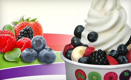 $2 for a Frozen Yogurt with 3 Toppings  at Pockets - 3001 N. Lincoln