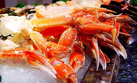 $32 for Four People at an Asian Buffet, Mongolian Grill &amp; Sushi Bar at Asian Buffet - Arizona