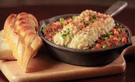 $15 for $30 at T.J. Maloney&#x27;s Authentic Irish Pub