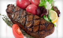 $15 for $30 at Medallion Steakhouse