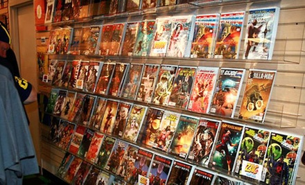 $5 for $10 Worth of Back Issue Comics at Maximum Comics