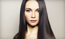 $149 for a Haircut, Full Highlights, Colour Shine Glaze & Blowout at Mauro Tollis Salon Hair Colour Group
