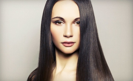 $149 for a Haircut, Full Highlights, Colour Shine Glaze &amp; Blow Out at Mauro Tollis Salon Hair Colour Group