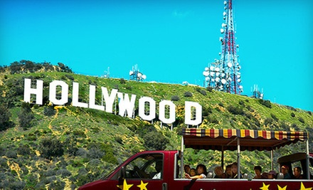 $30 for a Three-Hour Hollywood, Stars Homes & Hollywood Sign Tour at Hollywoodland Tours