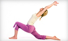 $8 for Endurance, Strength and Flexibility Class 9:30am at The Yoga School of Milford