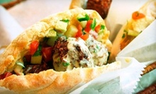 C$5 for C$8 at Falafel Plus
