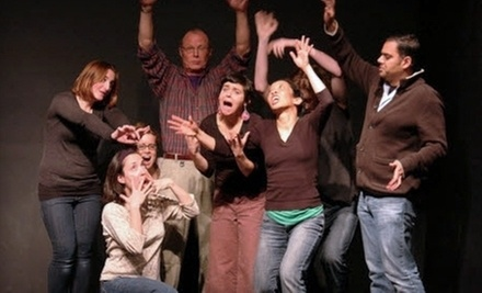 $10 for 7pm Improv Class at Pan Theater