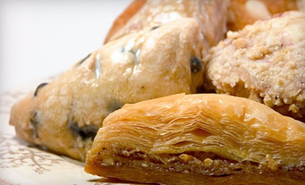 $15 for $20 at Baklava Pastries