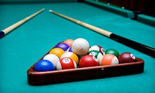 $10 for $20 Worth of Food & Drink at City Pool Hall