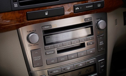 $100 for a Car-Audio-Jack Installation at Car Audio Cocoa
