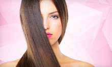 $89 for Partial Highlights, Cut, and Style at Udi Salon