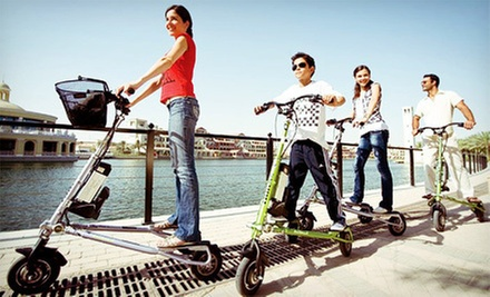 $25 for a Two-Hour Motorized Trikke Rental at South Florida Trikke
