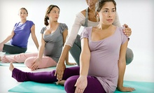$10 for a Drop-in Pre/Postnatal Yoga Class at 1:30 p.m. at Two Hearts Yoga