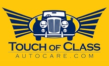 $14 for Super Classic Car Wash at Touch of Class Autocare
