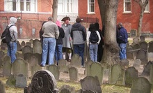 $8 for an 11:30 a.m. Freedom Trail Walking Tour at The Histrionic Academy