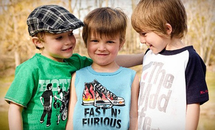C$30 for C$50 Worth of Kid's Clothing, Shoes & Accessories  at Devlish Angelz