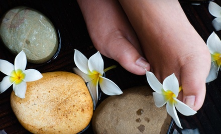 $56 for a Deluxe Facial and an Upper Body Hot Stone Massage  at Nails Etc II