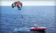 $89 for a 9 a.m. Tandem Parasailing Experience with Photo Package at Visit Palm Beach