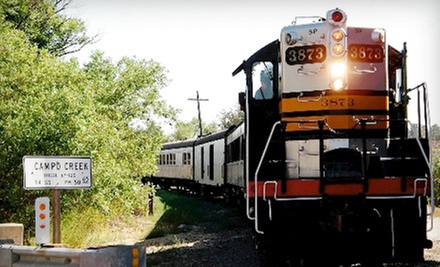 $15 for Two Adult Tickets for the Golden State Tour at 2:30 p.m. at Pacific Southwest Railroad Museum