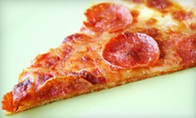 $4 for 2 Slices of Cheese Pizza and a Drink at Asaggio Pizza Pasta Plus