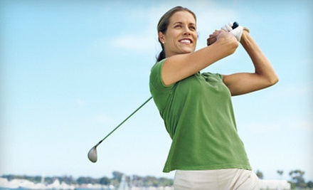 $19 for a 30-Minute Golf Lesson at The Aqua Golf Driving Range