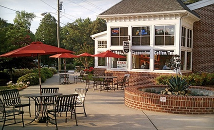 $10 for $20 at The Red Bicycle Coffee Café and Catering