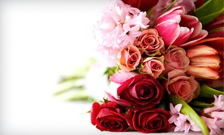 $45 for a Dozen Roses (up to $90 value)  at City Enchanted Gardens Florist