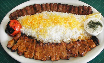 $10 for $20 Worth of Persian Cuisine at KC Grill 'N Kabob