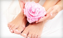 $55 for a Manicure-Pedicure at Moda Aveda Salon Spa