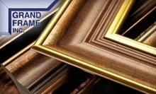 $20 for $100 Worth of Custom Framing at Grand Frame, Inc.
