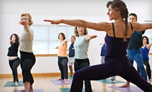 $6 for a Drop In Yoga Class at 11 a.m. at Yogi Power Yoga