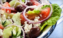 $10 for $20 at Veranda Greek Cafe