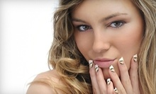 $37 for a Manicure and Pedicure at Yeimis Beauty Salon