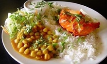 $5 for $7 at EAST INDIA GRILL